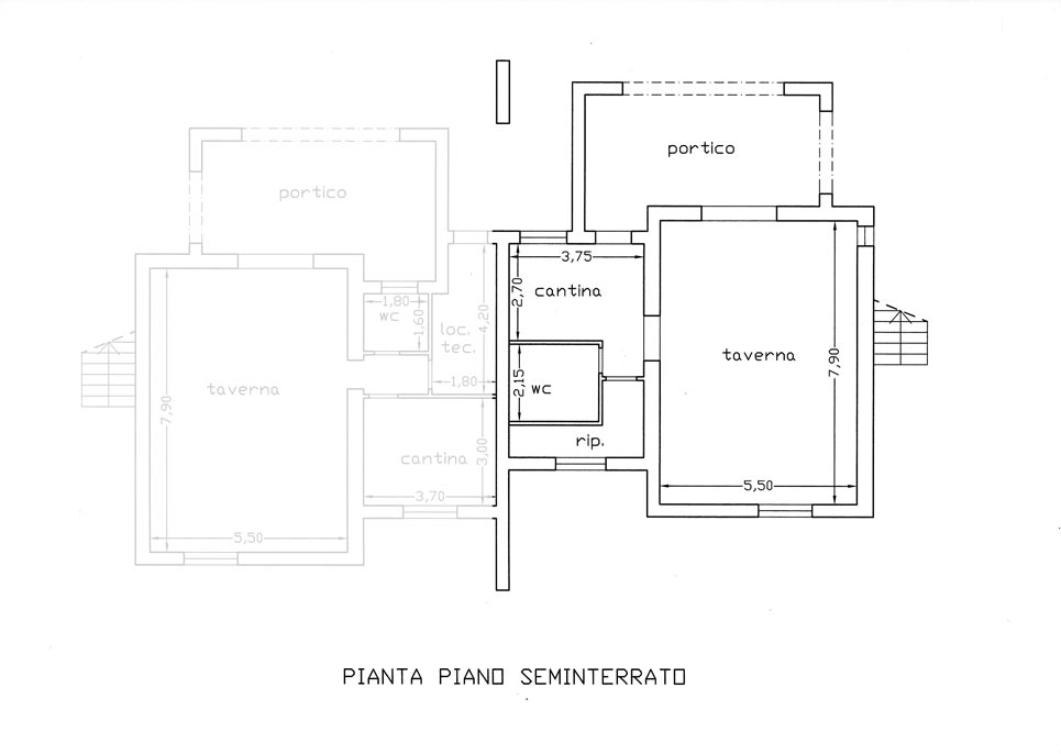 Roccatederighi roccastrada gr appartamento in villa for Piano seminterrato